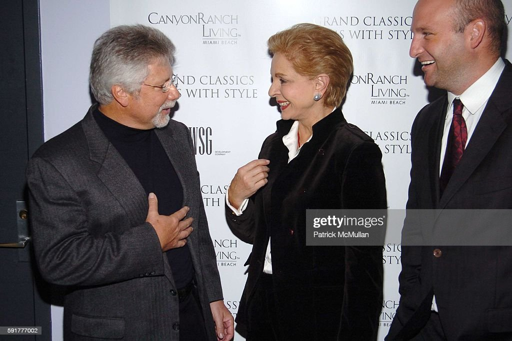 Philip Wolman Carolina Herrera and Eric Sheppard attend Grand Classics Films With Style hosted by Carolina Herrera and sponsored by WSG/Canyon Ranch...