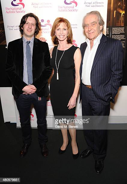 Philip Womack Jane Asher and Gerald Scarfe attend Spectrum 2014 an annual fundraising event in support of the National Autistic Society to launch...