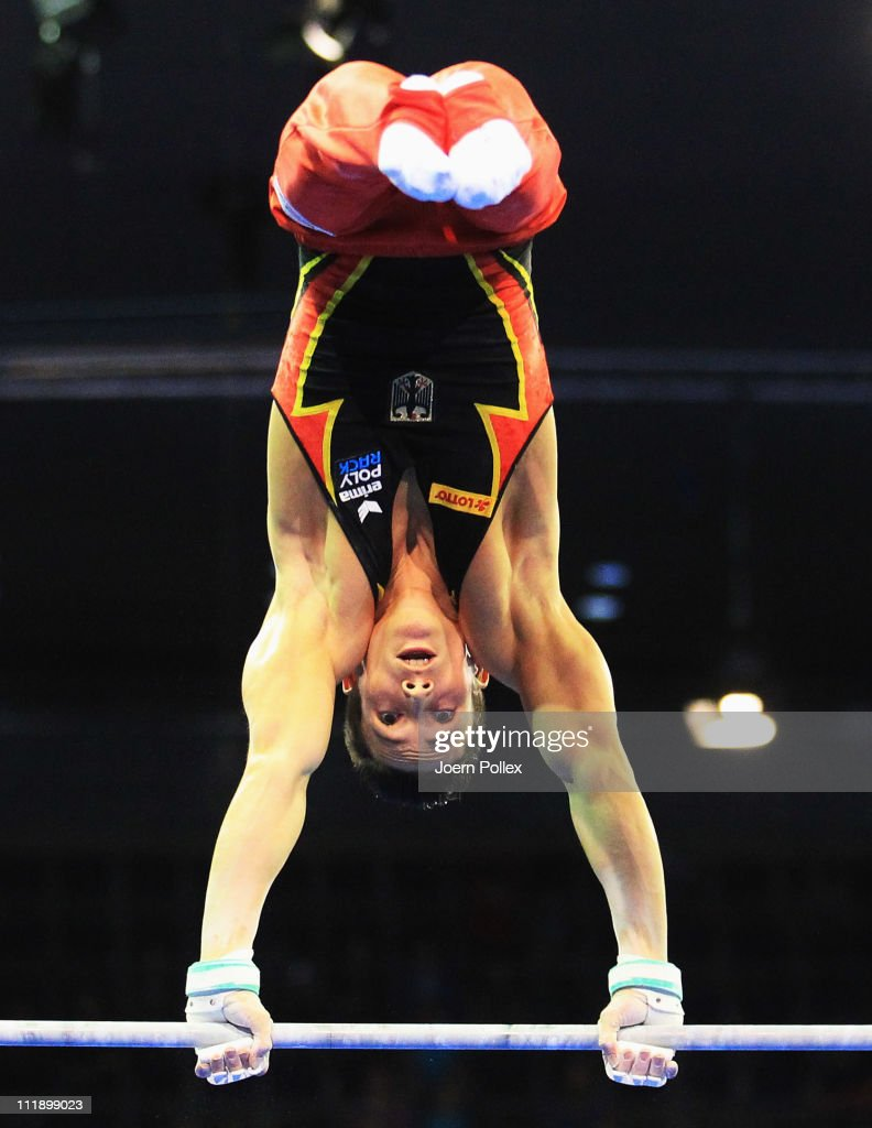 Philipp Boy Of Germany Performs On The High Bar During European Championships Artistic Gymnastics