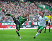 Philipp Christoph Kramer of Gladbach during the Bundesliga match between Werder Bremen and Borussia Moenchengladbach at Weserstadion on February 15...