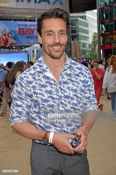 Philipp Christopher during the Baywatch European Premiere Party on May 31 2017 in Berlin Germany