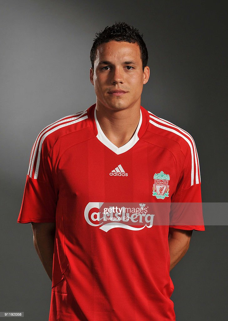<a gi-track='captionPersonalityLinkClicked' href=/galleries/search?phrase=Philipp+Degen&family=editorial&specificpeople=534432 ng-click='$event.stopPropagation()'>Philipp Degen</a> of Liverpool FC poses during a Liverpool FC 2009/2010 season photocall in Liverpool, England.