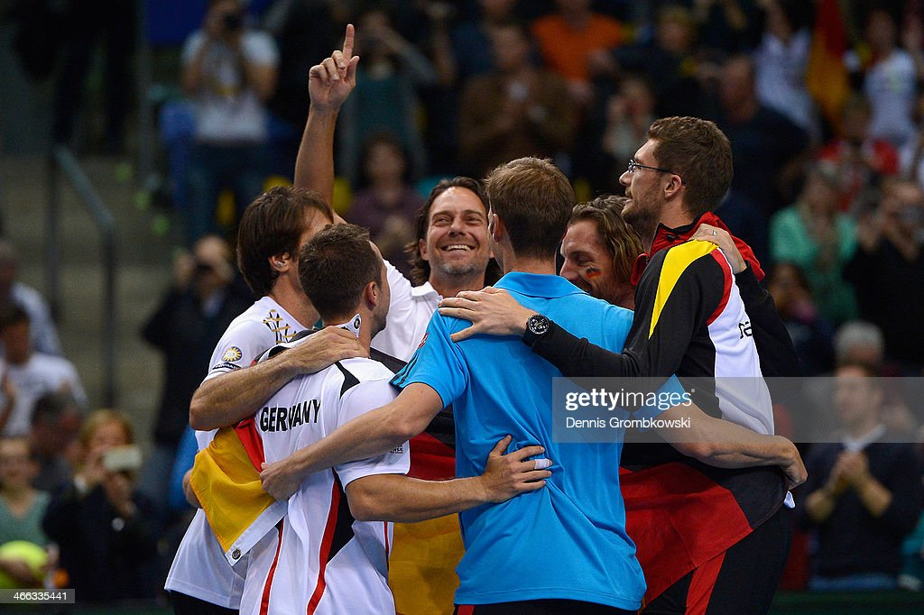 Germany v Spain - Davis Cup First Round Day 2