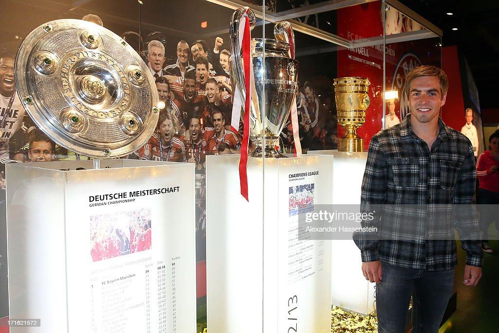Bayern Muenchen Unveils Erlebniswelt Triple Area