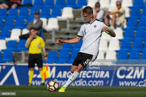 Philipp Lienhart during the friendly match of national teams U21 of Austria vs The Netherlands in Pinatar Arena Murcia SPAIN March 27th 2017