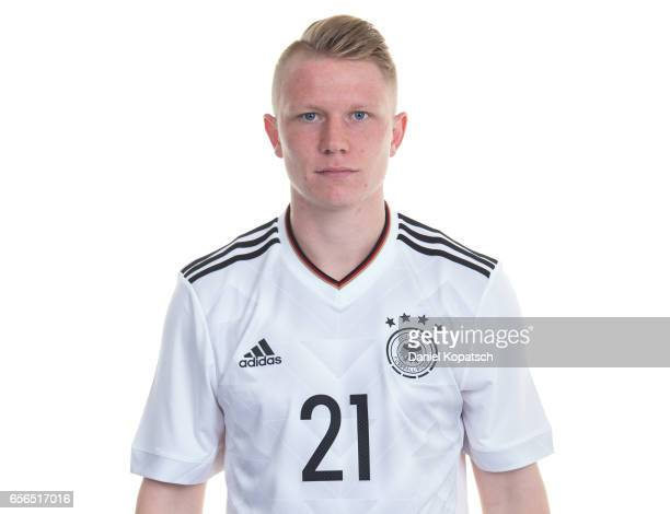 Philipp Ochs poses during the Germany U20 Team Presentation on March 22 2017 in Homburg Germany