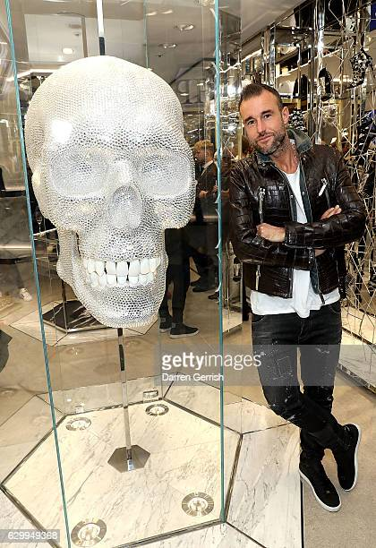Philipp Plein hosts a cocktail party to celebrate the opening of the Philipp Plein London Boutique on December 15 2016 in London England