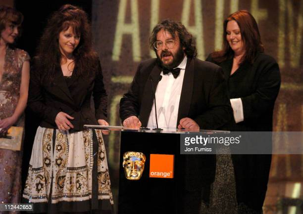 Philippa Boyens Peter Jackson and Fran Walsh winners of Best Adapted Screenplay