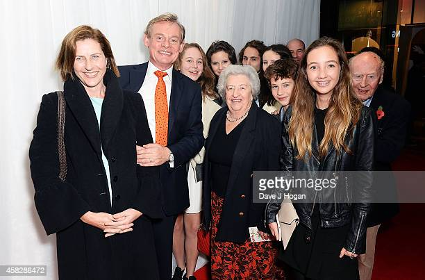Philippa Braithwaite Martin Clunes and guests attend the UK Premiere of 'Nativity 3 Dude Where's My Donkey' at Vue West End on November 2 2014 in...