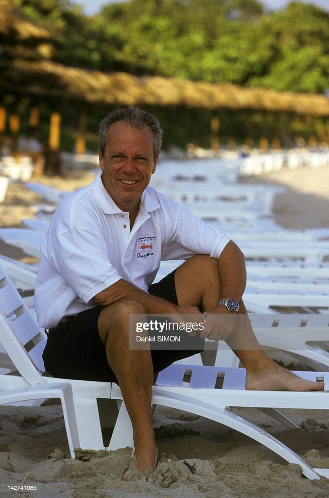 Philippe Bourguignon, Club Med CEO poses on May 10,1997 in Varadero, Cuba.