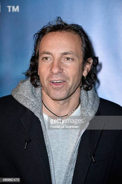 Philippe Candeloro attends a photocall prior to the 'Amaluna' show from Cirque Du Soleil at Parc de Bagatelle on November 5 2015 in Paris France