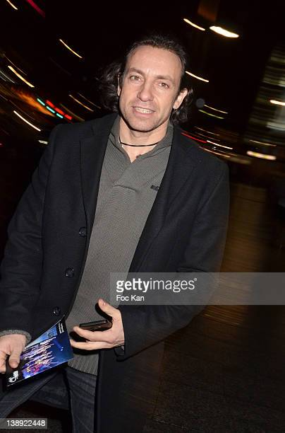 Philippe Candeloro attends the 'Adam Eve La Seconde Chance' Generale Arrivals at the Palais des Sports on February 13 2012 in Paris France