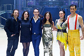 Philippe Candeloro Singers John Eyzen and Candice Parise Ice Skaters and Nathalie Pechalat attend the 'Holiday On Ice 2016' Paris Premiere at Zenith...