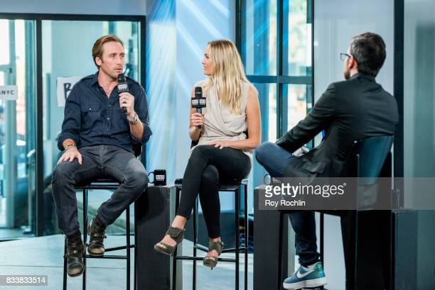 Philippe Cousteau and Ashlan Cousteau discuss 'Caribbean Pirate Treasure' with the Build Series at Build Studio on August 17 2017 in New York City