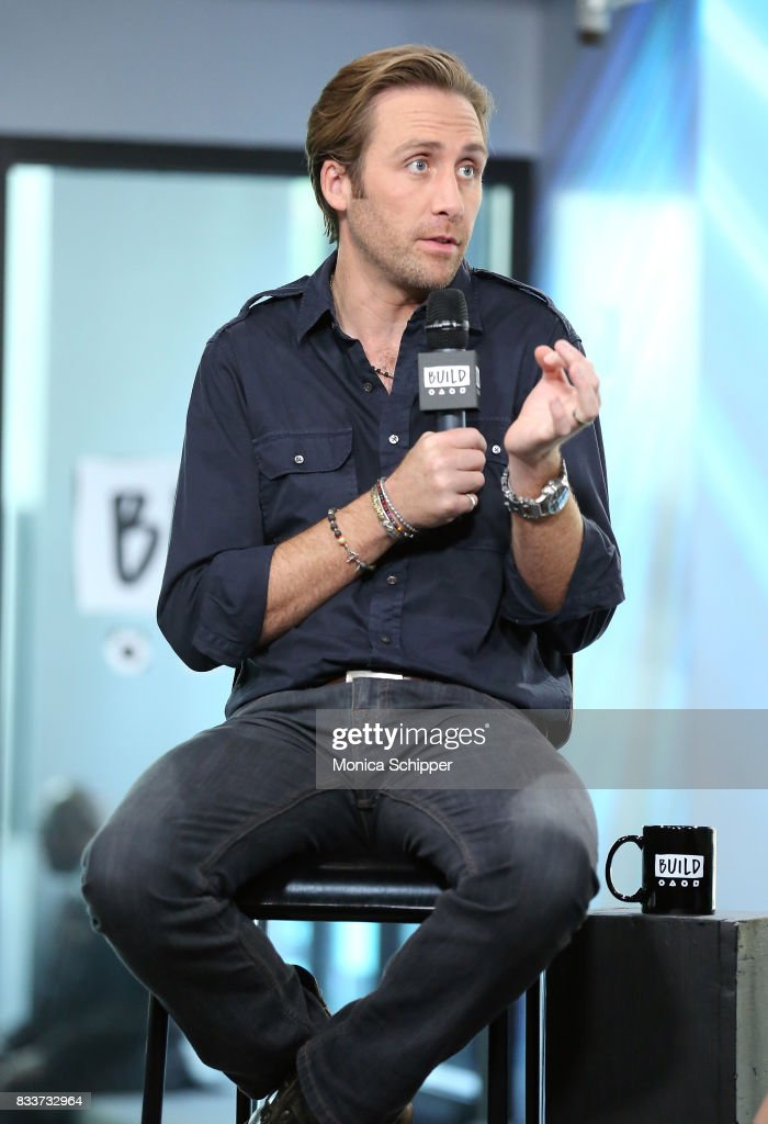 Philippe Cousteau Jr. discusses 'Caribbean Pirate Treasure' at Build Studio on August 17, 2017 in New York City.