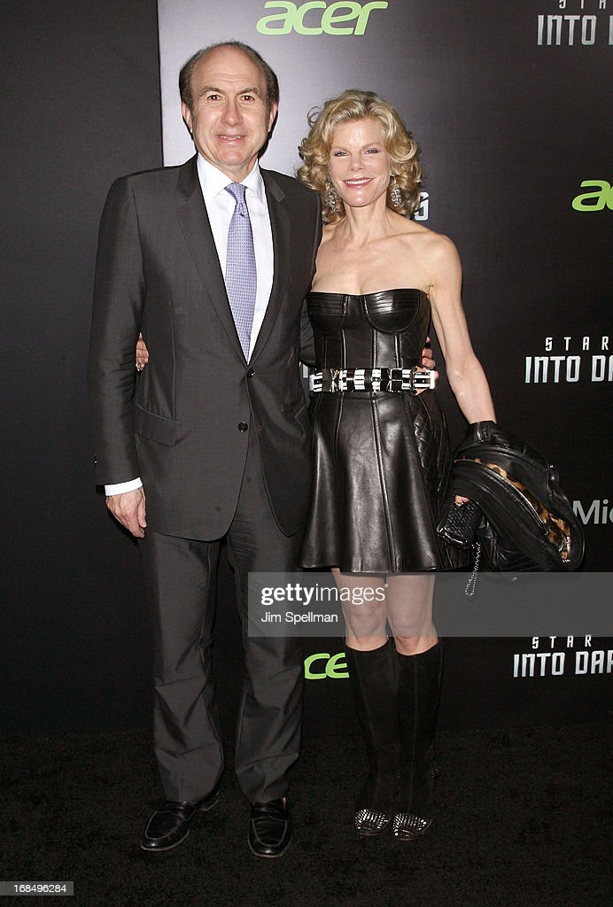 <a gi-track='captionPersonalityLinkClicked' href=/galleries/search?phrase=Philippe+Dauman&family=editorial&specificpeople=1381252 ng-click='$event.stopPropagation()'>Philippe Dauman</a> and wife Debra Dauman attends the 'Star Trek Into Darkness' screening at AMC Loews Lincoln Square on May 9, 2013 in New York City.