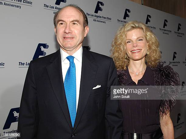 Philippe Dauman President and CEO of Viacom and his wife Deborah