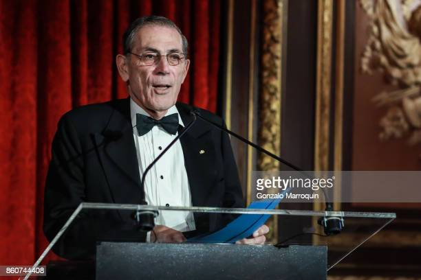 Philippe de Montebello during the 2017 Hispanic Society Museum Library Annual Gala on October 12 2017 in New York City