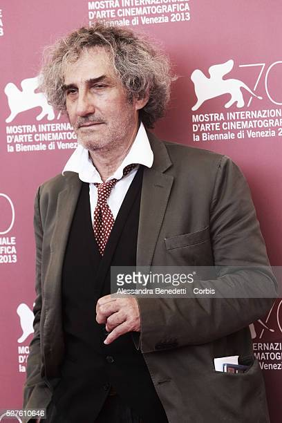 Philippe Garrel attends the photocall of movie La Jalousie presented in competition at the 70th International Venice Film Festival