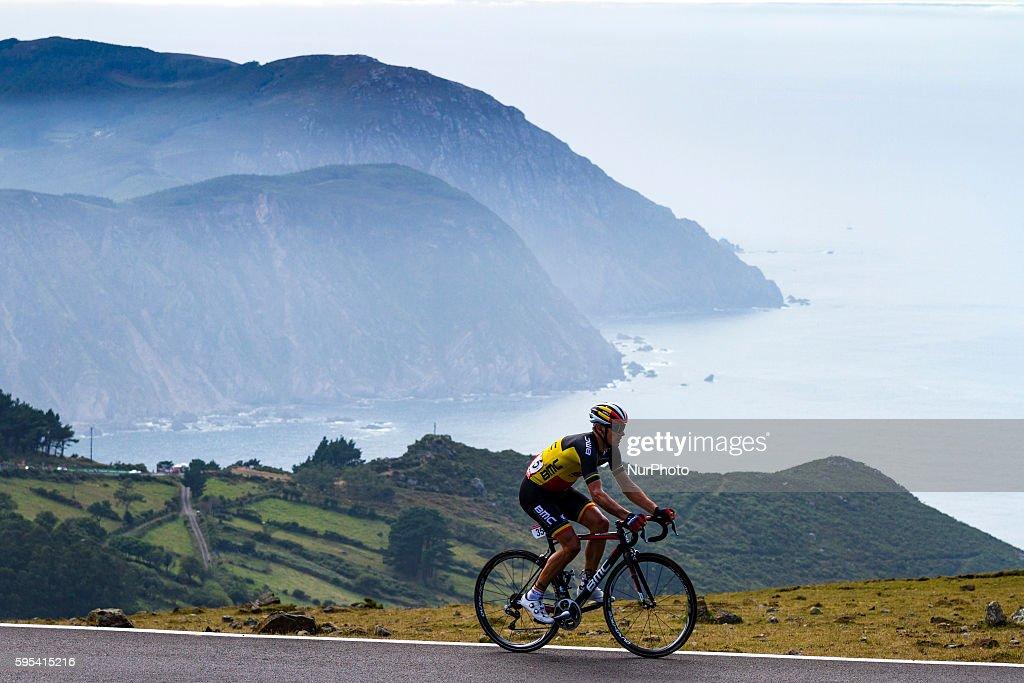 Philippe Gilbert / BMC Racing Team during 71st La Vuelta España 2016 / Stage 4 Betanzos San Andrés de Teixido on August 23 Spain