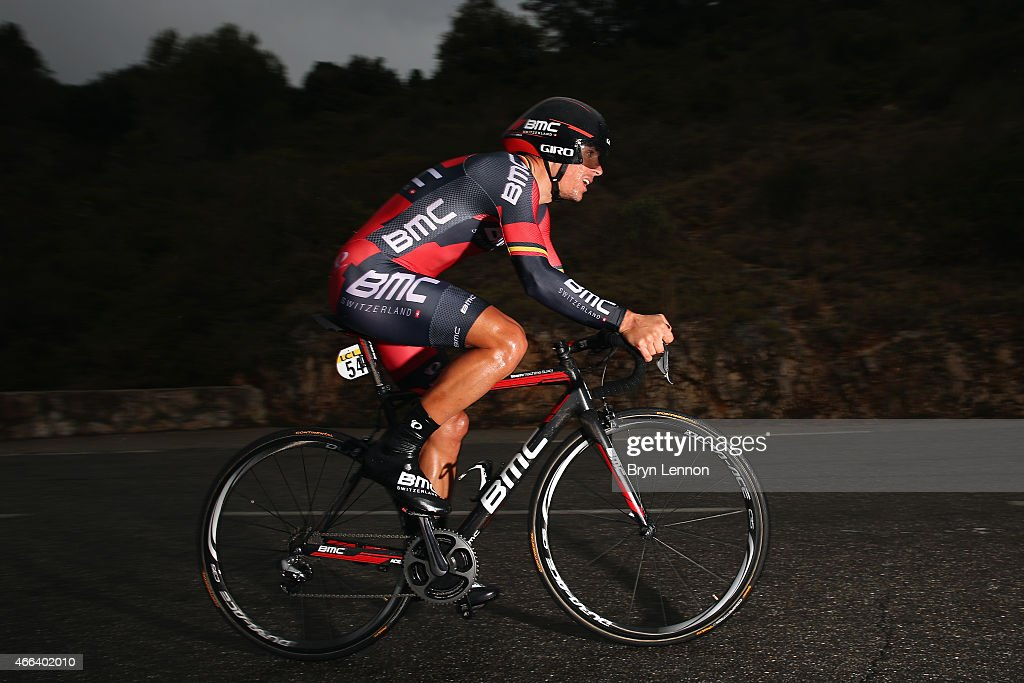 <a gi-track='captionPersonalityLinkClicked' href=/galleries/search?phrase=Philippe+Gilbert&family=editorial&specificpeople=578487 ng-click='$event.stopPropagation()'>Philippe Gilbert</a> of Belgium and Team BMC in action on stage seven of the 2015 Paris-Nice from Nice to Col d'Eze on March 15, 2015 in Nice, France.