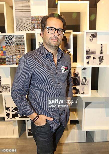 Philippe Gonzalez at the world's first Instagramers Gallery on December 11 2013 in Miami Florida