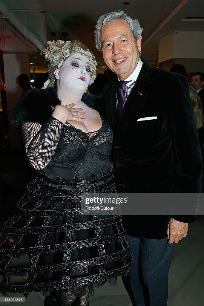 Philippe Houze, CEO of Galeries Lafayette (R) attends the Galeries Lafayette 100th Anniversary Bal on December 12, 2012 in Paris, France.