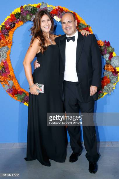 Philippe Journo and his wife Co President of Opening Gala Karine attend the Opening Season Gala Ballet of Opera National de Paris Held at Opera...