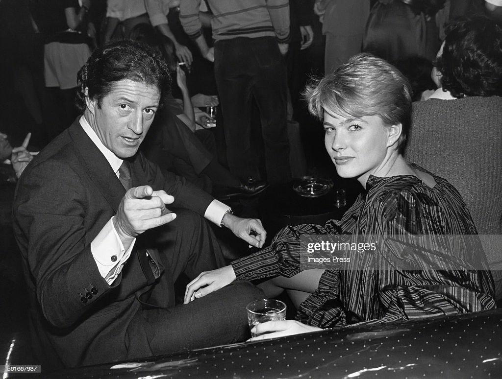 Philippe Junot and Marcy Schlobohm circa 1981 in New York City