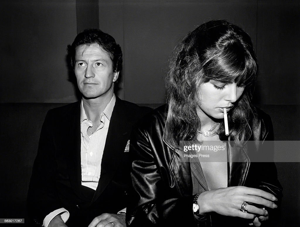 Philippe Junot and Princess Caroline circa 1979 in New York City