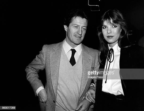 Philippe Junot and Princess Caroline circa 1979 in New York City