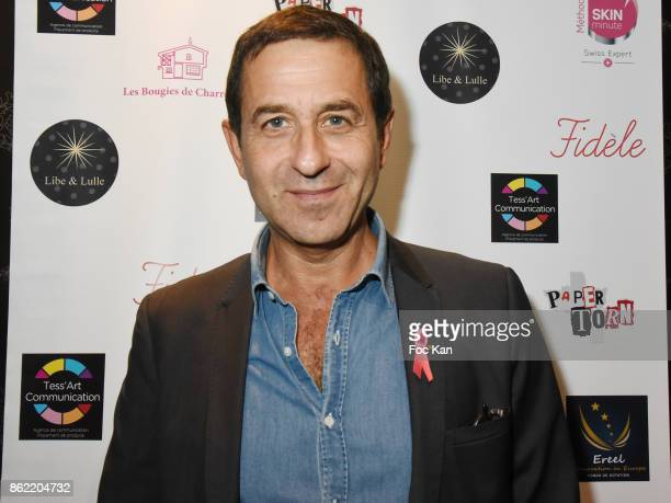 Philippe Kelly attends the 'Souffle de Violette' Auction Party As part of 'Octobre Rose' Hosted by Ereel at Fidele Club on October 16 2017 in Paris...