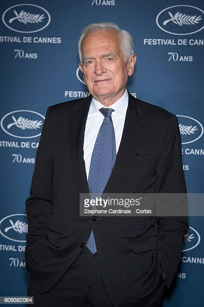 Philippe Labro attends the 'Cannes Film Festival 70th Anniversary Party' at Palais Des Beaux Arts on September 20 2016 in Paris France