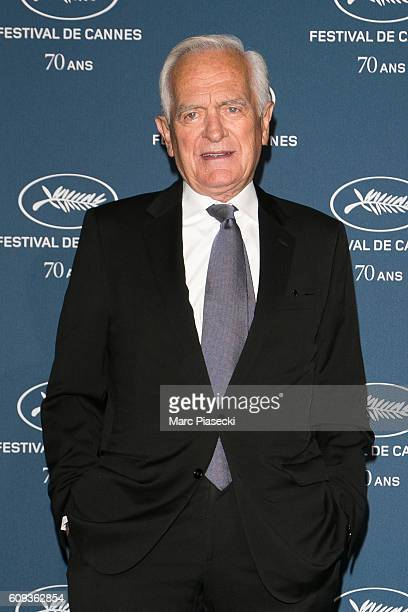 Philippe Labro attends the 'Cannes Film Festival 70th anniversary' Party at Palais Des Beaux Arts on September 20 2016 in Paris France