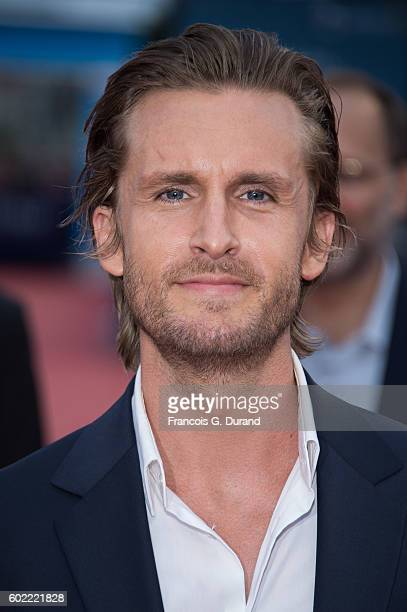 Philippe Lacheau arrives to the 'War Dogs' premiere and Award Ceremony during the 42nd Deauville American Film Festival on September 10 2016 in...