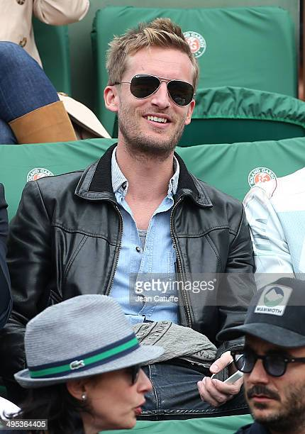 Philippe Lacheau attends Day 9 of the French Open 2014 held at RolandGarros stadium on June 2 2014 in Paris France