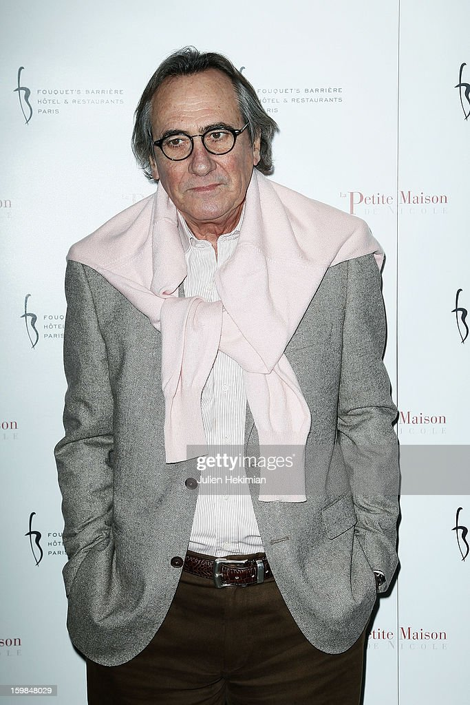 Philippe Lavil attends 'La Petite Maison De Nicole' Inauguration Photocall at Hotel Fouquet's Barriere on January 21, 2013 in Paris, France.