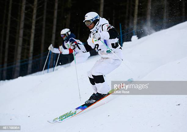 Philippe Marquis of Canada competes during the Men's Dual Moguls Final of the FIS Freestyle Ski and Snowboard World Championship 2015 on January 19...