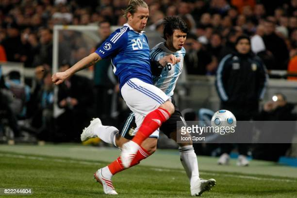 Philippe MEXES / AGUERO Argentine / France Match amical Marseille