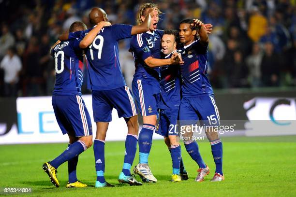 Philippe Mexes / Mathieu Valbuena / Florent Malouda Bosnie Herzegovine / France Qualifications Euro 2012 Sarajevo