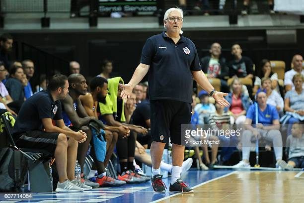 Philippe Monschau of Strasbourg during the Final match between Strasbourg and Gravelines Dunkerque at Tournament ProStars at Salle Arena Loire on...