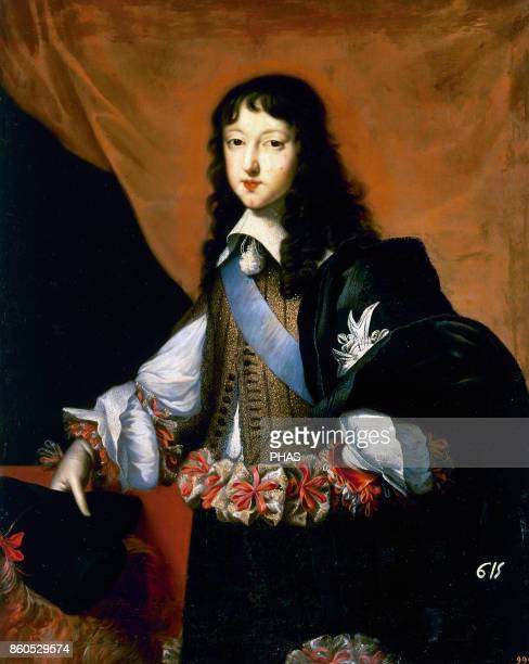 Philippe of France duke of Orleans Philippe I of Orleans Portrait by Jean Nocret made in 1650 approximately Prado Museum Madrid Spain