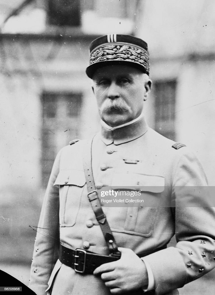 Philippe Petain (1856-1951), France marshal and French politician. 1916.