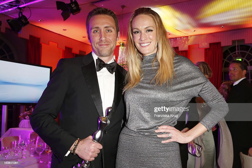 Philippe Pierre Cousteau and Ashlan Gorse attend the Gala Spa Award 2013 at the Brenners Park Hotel on March 16, 2013 in Berlin, Germany.