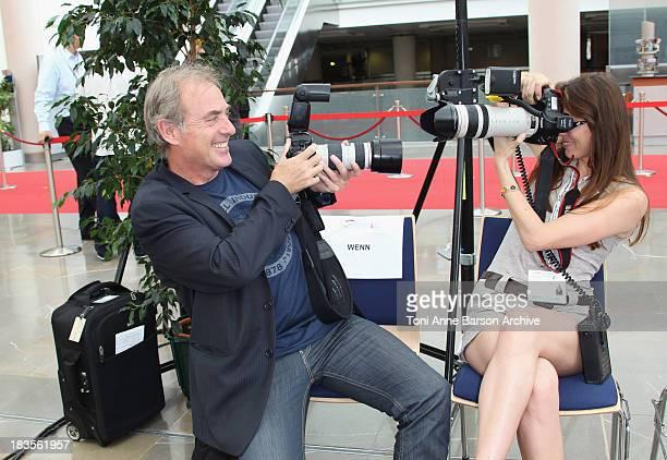 Philippe Risoli attends a photocall at the Grimaldi Forum on June 7 2010 in MonteCarlo Monaco