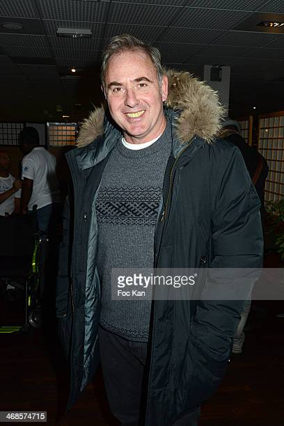 Philippe Risoli attends the 'Sourire Gagnant' Charity Event to Benefit 'Enfant Star Et Match' At Sporting Tennis Club on February 10 2014 in Paris...