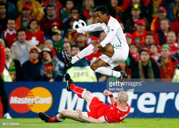 NANI / Philippe SENDEROS Portugal / Suisse Euro 2008 Bale