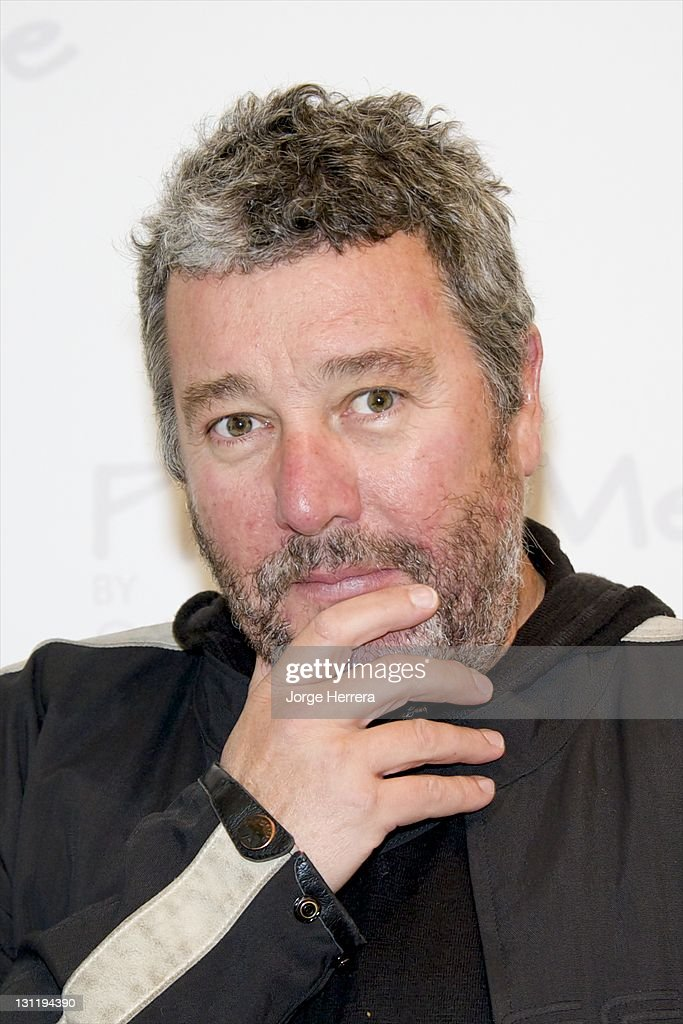 <a gi-track='captionPersonalityLinkClicked' href=/galleries/search?phrase=Philippe+Starck&family=editorial&specificpeople=3961802 ng-click='$event.stopPropagation()'>Philippe Starck</a> attends the launch of Photo-Me photobooths designed by <a gi-track='captionPersonalityLinkClicked' href=/galleries/search?phrase=Philippe+Starck&family=editorial&specificpeople=3961802 ng-click='$event.stopPropagation()'>Philippe Starck</a> at the Saatchi Gallery on November 2, 2011 in London, England.