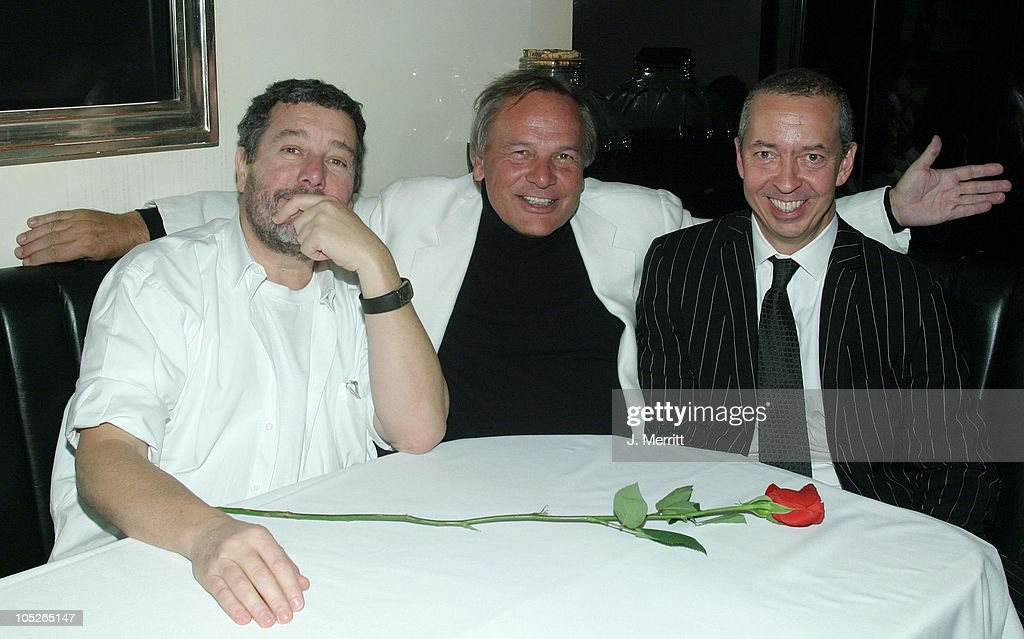 <a gi-track='captionPersonalityLinkClicked' href=/galleries/search?phrase=Philippe+Starck&family=editorial&specificpeople=3961802 ng-click='$event.stopPropagation()'>Philippe Starck</a>, <a gi-track='captionPersonalityLinkClicked' href=/galleries/search?phrase=Benedikt+Taschen&family=editorial&specificpeople=2136234 ng-click='$event.stopPropagation()'>Benedikt Taschen</a> and guest during Taschen Books Takes Los Angeles at Tascchen Book Store in Beverly Hills, California, United States.