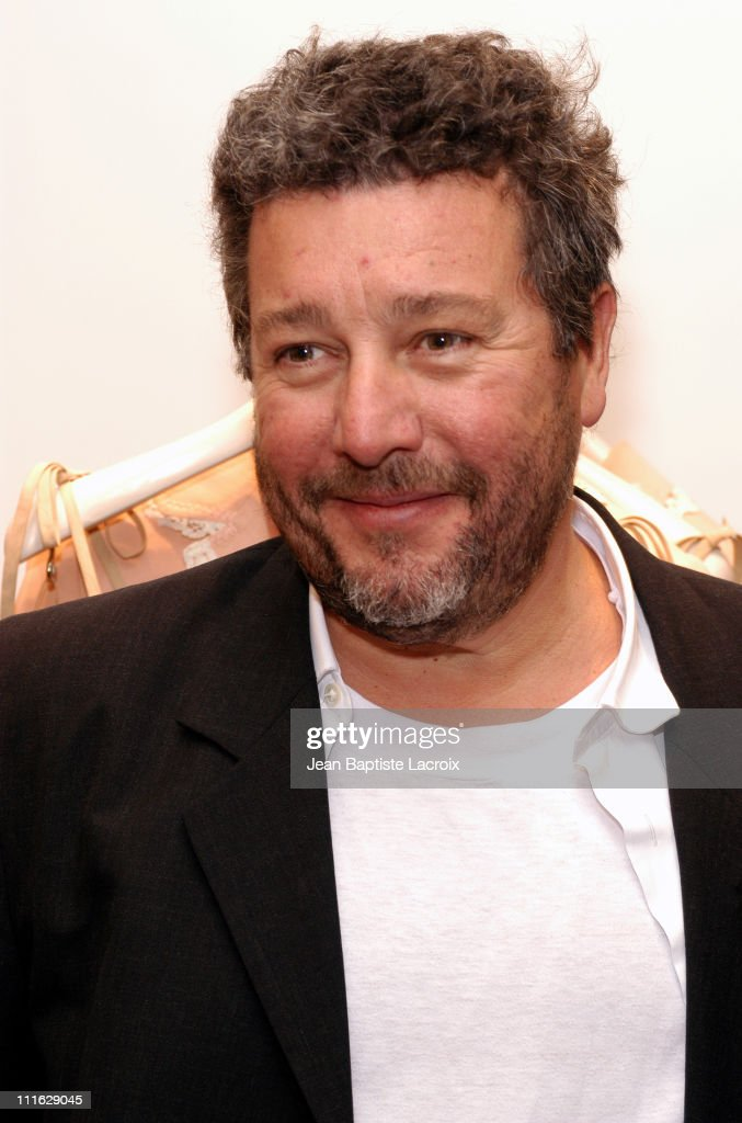 <a gi-track='captionPersonalityLinkClicked' href=/galleries/search?phrase=Philippe+Starck&family=editorial&specificpeople=3961802 ng-click='$event.stopPropagation()'>Philippe Starck</a> during Paris Fashion Week Autumn-Winter 2003/2004 - Moschino Opening Party at Moschino Shop in Paris, France.